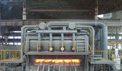 pusher furnace refractories